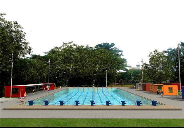 Adecuaci n de la piscina del centro deportivo for Piscina ciudad universitaria